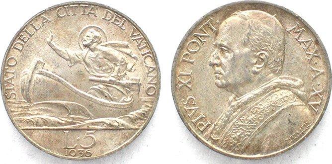 5 лир, Святой Пётр