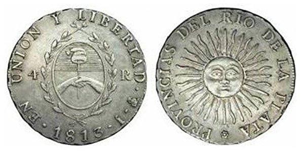 4 реала 1813 г.