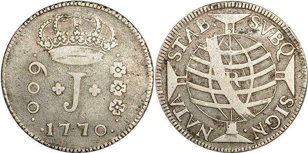 600 реалов 1770 г.