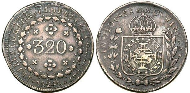 320 реалов 1824 г.