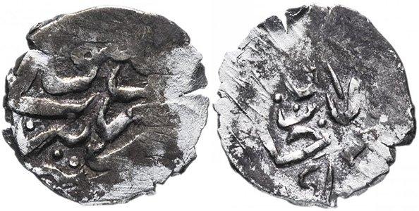 """Гази II Гирей, акче """"Ханлык"""" - ханский чекан , 996 г.х."""