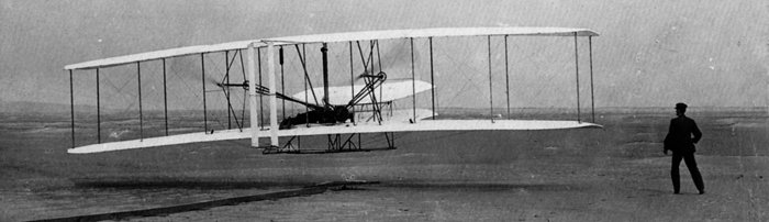 Первый полёт самолёта братьев Райт – Флайера-1