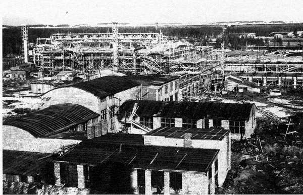 Строительство Краснокамской фабрики Гознака
