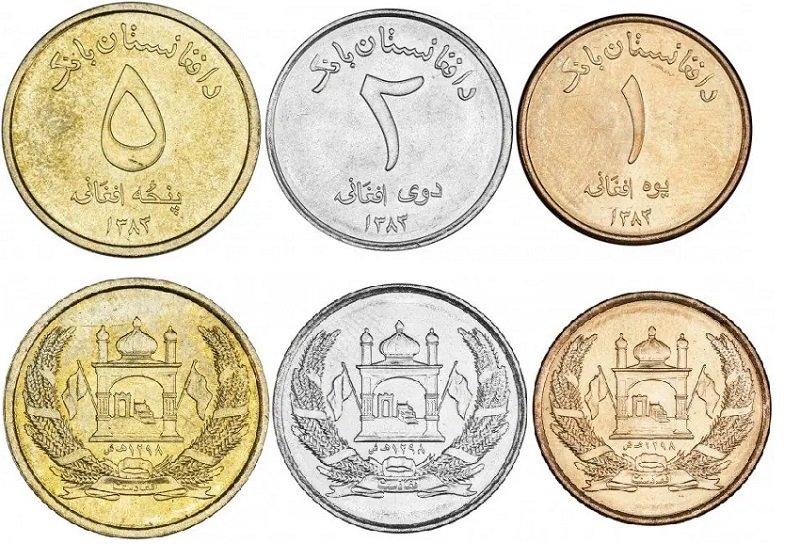 Циркуляционные монеты Афганистана