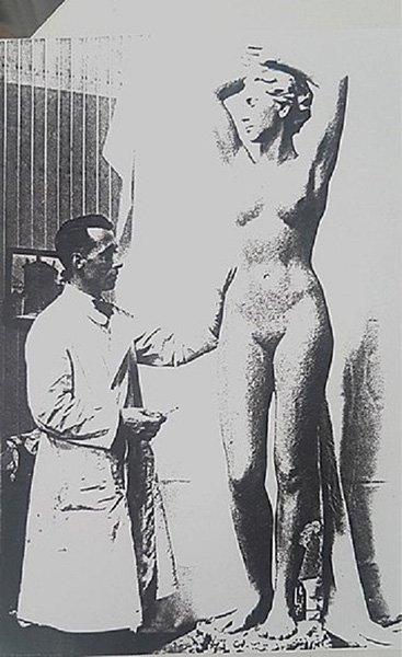 Рихард М. Вернер за работой. 1936 год