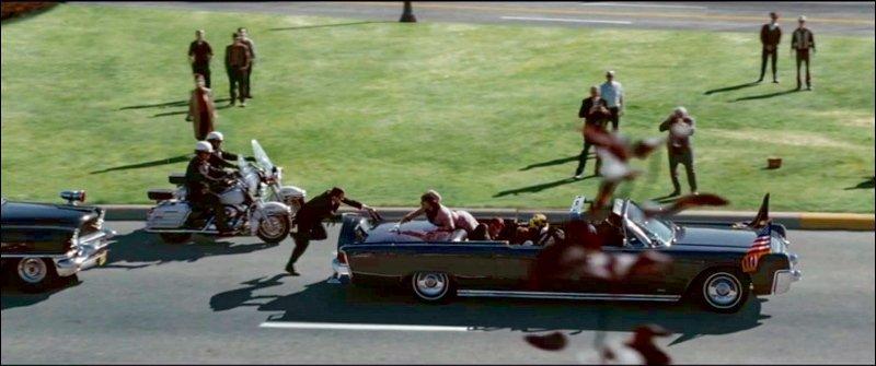 Момент убийства Джона Ф. Кеннеди, 1963 год