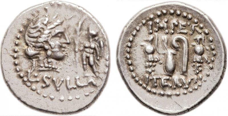 Денарий (84-83 годы до н.э.)