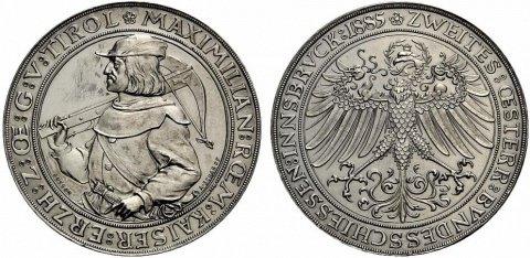 2 флорина, Максимилиан