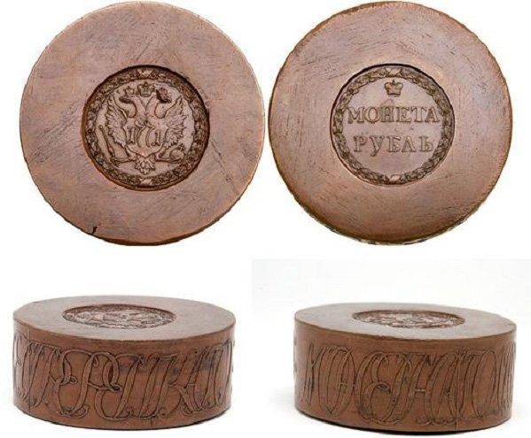 Сестрорецкий рубль 1771 года