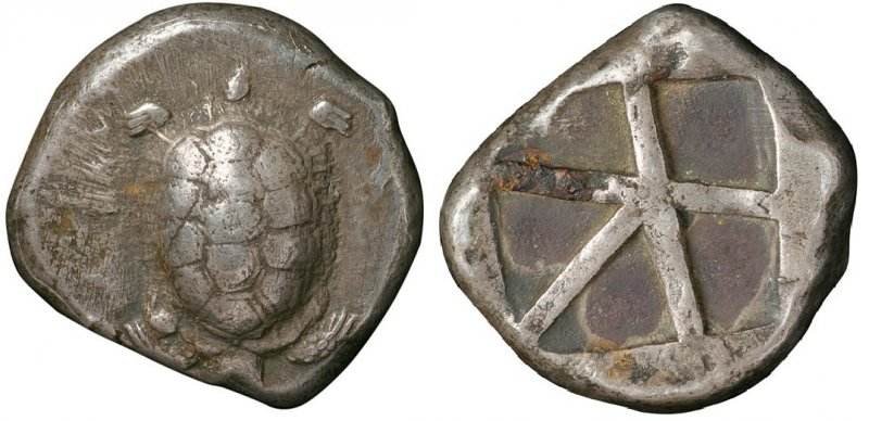 Статер из Эгины (446-431 годы до н.э.)