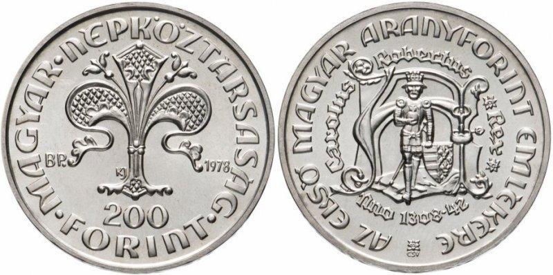 200 форинтов 1978 года