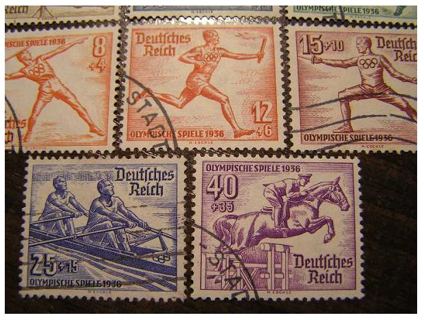 Рейх. Олимпиада 1936 г.