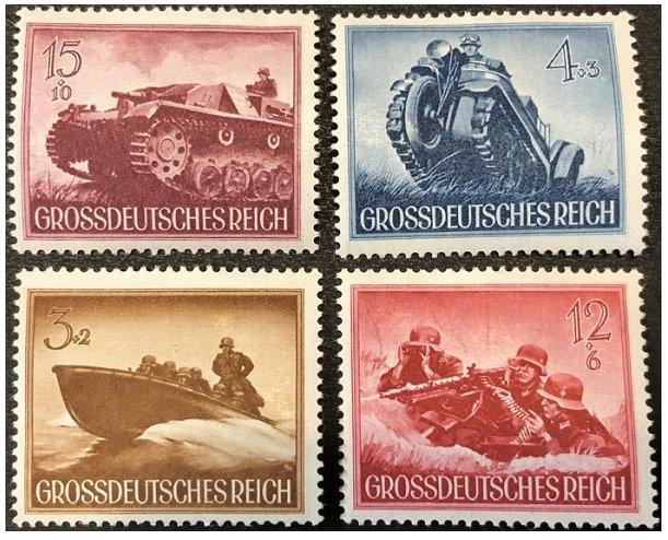 Grossdeutsches reich. Солдаты, техника. 1944 г.