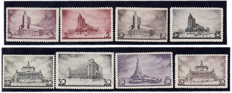 Архитектура Москвы. 1937 г.