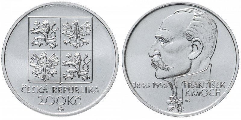 200 крон 1998 года «Франтишек Кмох»
