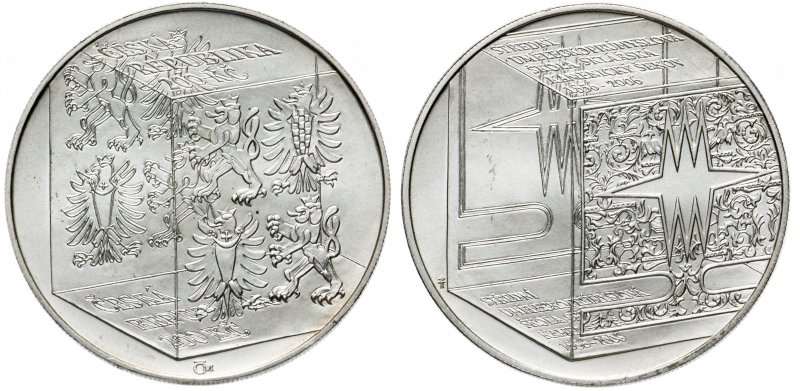 200 крон 2006 года «150 лет Школе стекла в Каменицки-Шенов»