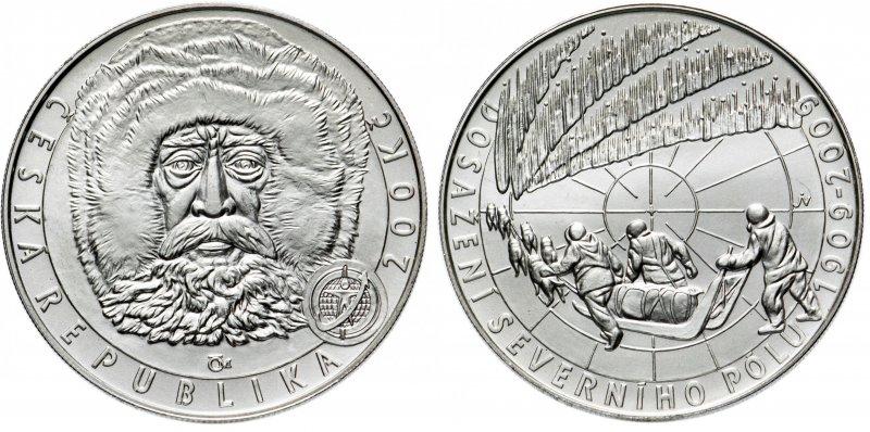 200 крон 2009 года «100 лет со дня достижения Северного полюса»