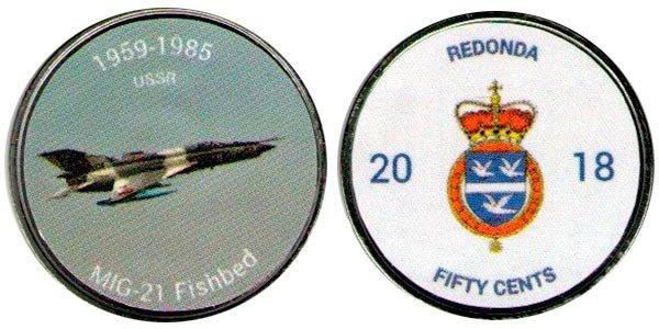50 центов «МиГ-21», Редонда, 2018 год