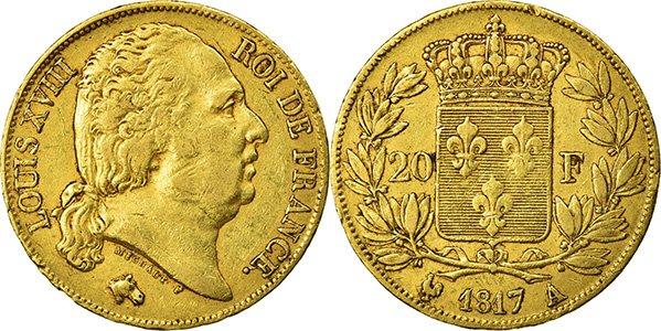 Наполеондор Людовика XVIII