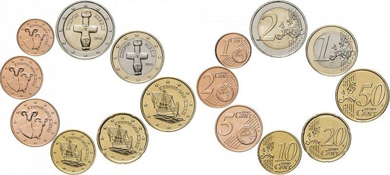 Кипрские монеты евро