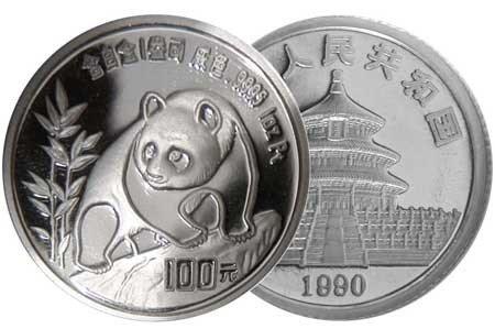 «Платиновая панда». Китай. 1994