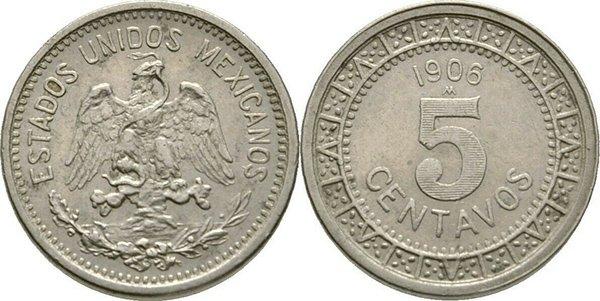 5 сентаво 1906 г.