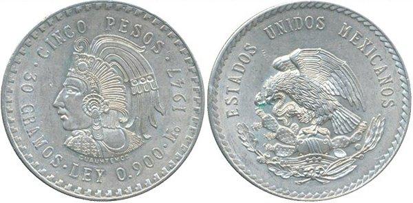 5 песо 1947 г.