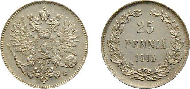 Номинал 25 пенни