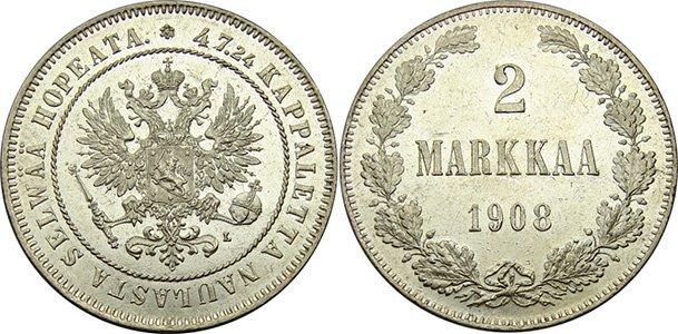 Номинал 2 марки