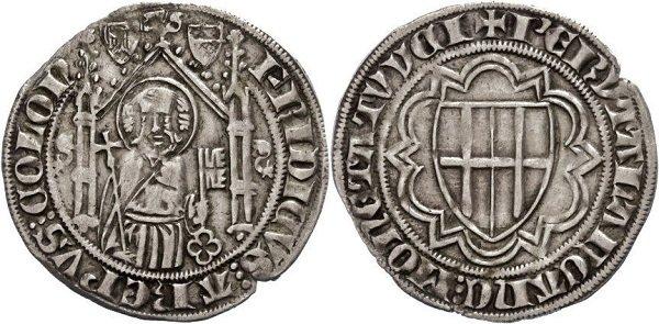 Weißpfennige («белый пфенниг»). Фридрих III фон Саарверден, курфюрст-архиепископ Кельна. 1372 год. Серебро, 2,5 г