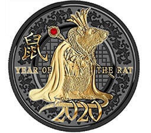 «Год Крысы», 500 франков КФА