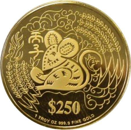 «Год Крысы», 250 долларов
