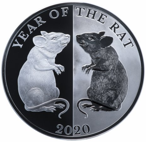 «Год Крысы», 5 долларов