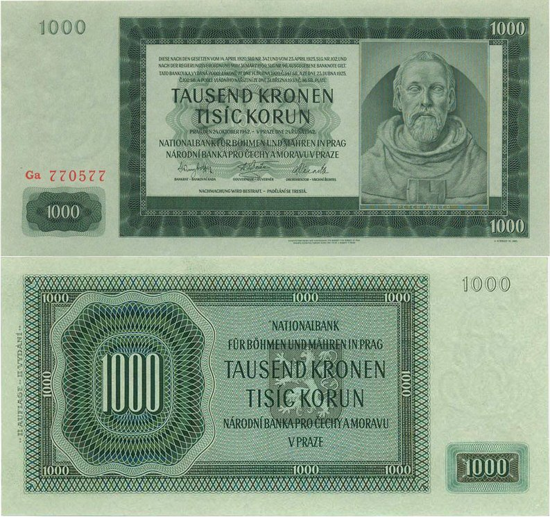 1000 крон
