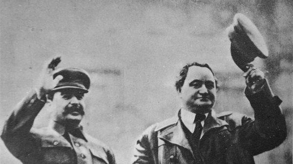 Иосиф Сталин и Георгий Димитров
