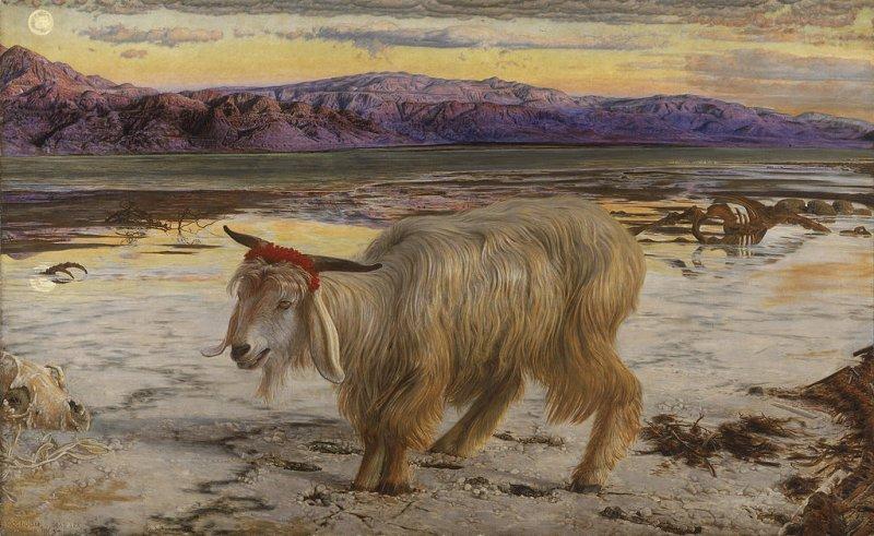 «Козел отпущения» картина известного английского художника Вильяма Хольмана Ханта