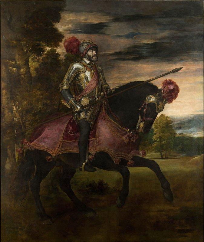 Конный портрет Карла V