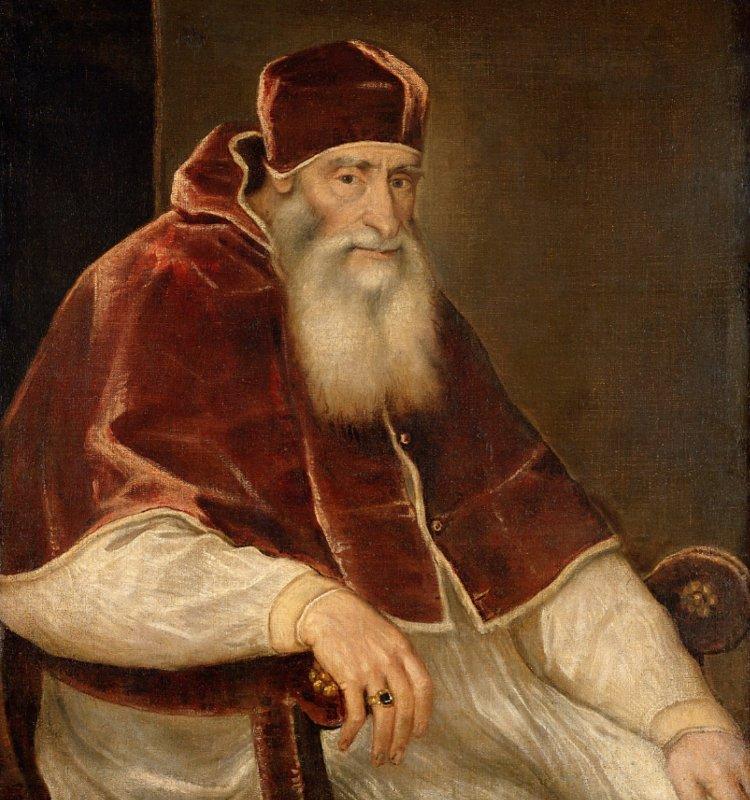 Портрет Папы Римского Павла III