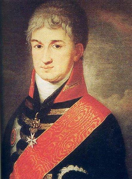 Николай Резанов (1764-1807 гг.). Один из основателей РАК. Дипломат, предприниматель, первый посол России в Японии