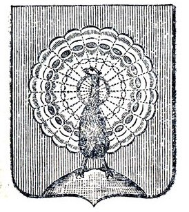Герб города Серпухов, составленный Франциско Санти