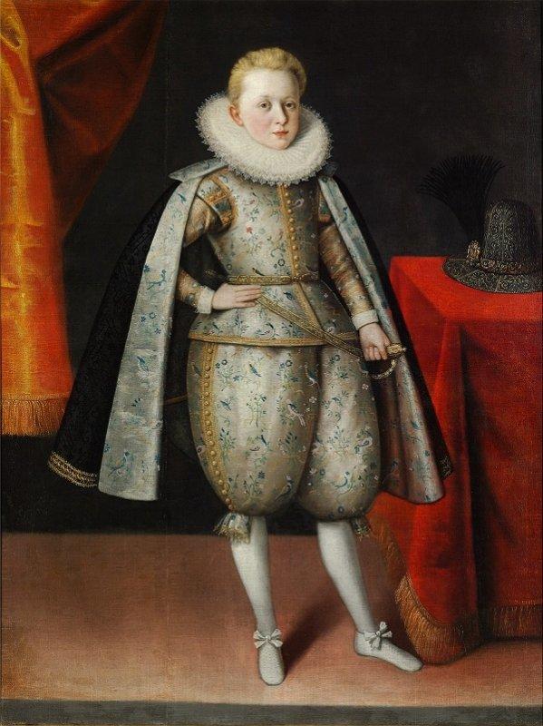 Якоб Трошель. Портрет польского принца Владислава. 1605 год
