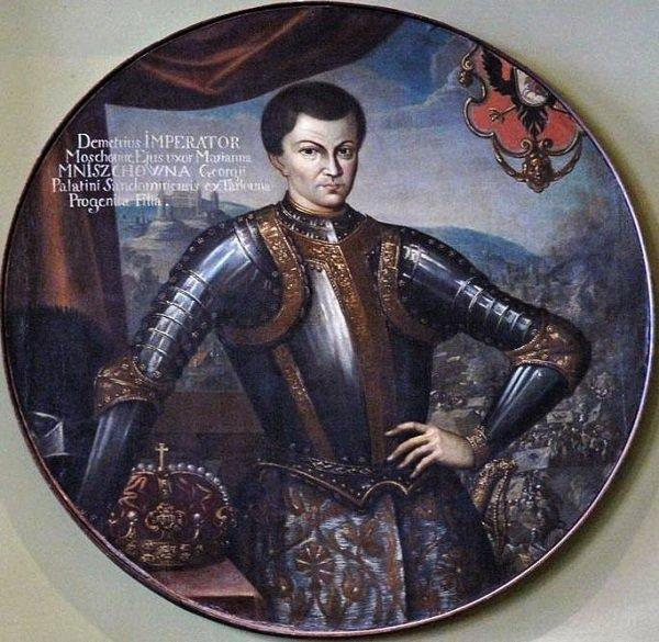 Портрет «Димитрия, императора Московии». 1604 год.  Польша. Замок Вишневецких