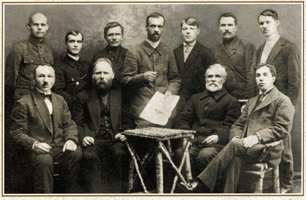 Совет рабочих депутатов уральского города Верхний Уфалей. Ноябрь 1917 года