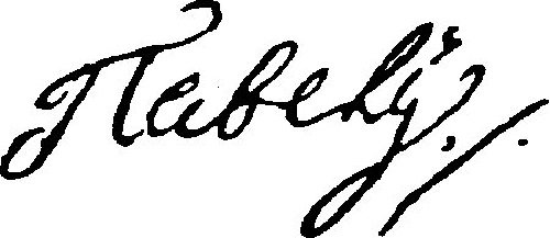 Автограф Павла I