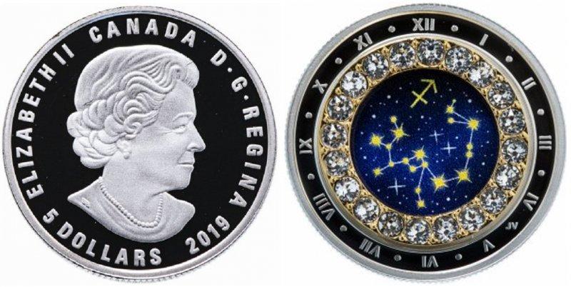 "Монета ""Стрелец"", Канада"