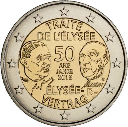 50 лет франко-германским отношениям, 2013 г.