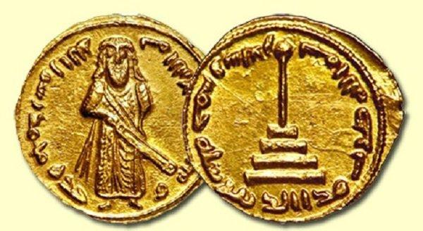 Золотой динар. Халиф Абд аль-Малик