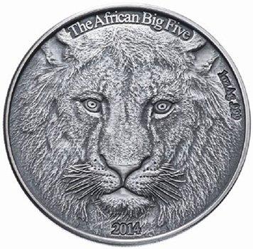 1000 франков. Буркина-Фасо. 2014 год. Серебро, 31 г