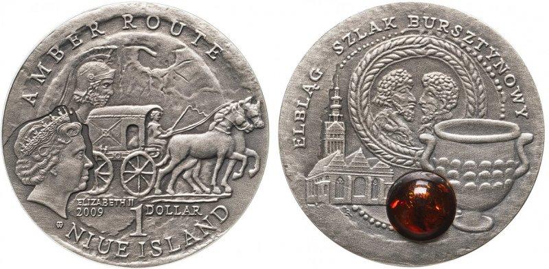 Ниуэ. 1 доллар 2009 года