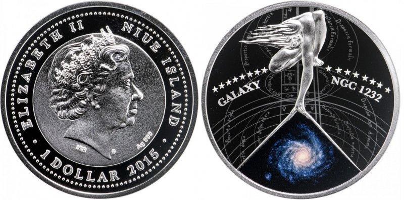 Ниуэ. 1 доллар 2015 года